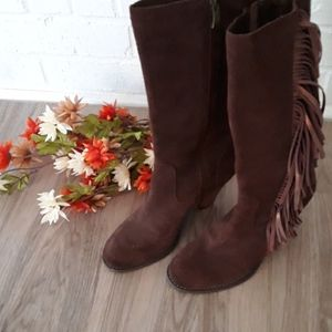 NEW Reba leather cowgirl boots